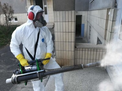 dezinfekce školy, úřadu